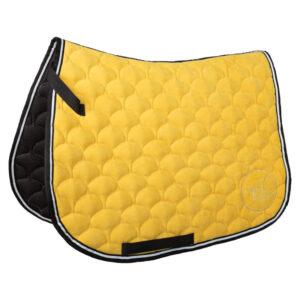 czaprak Velvet żółty