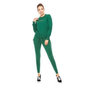 Bluza klasyczna zielona