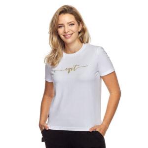 T-shirt klasyczny biały