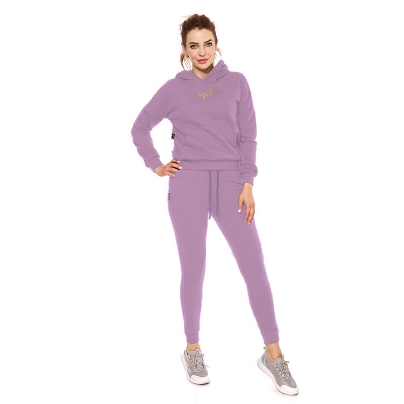 Spodnie dresowe fioletowe